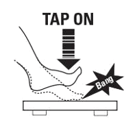 tap on